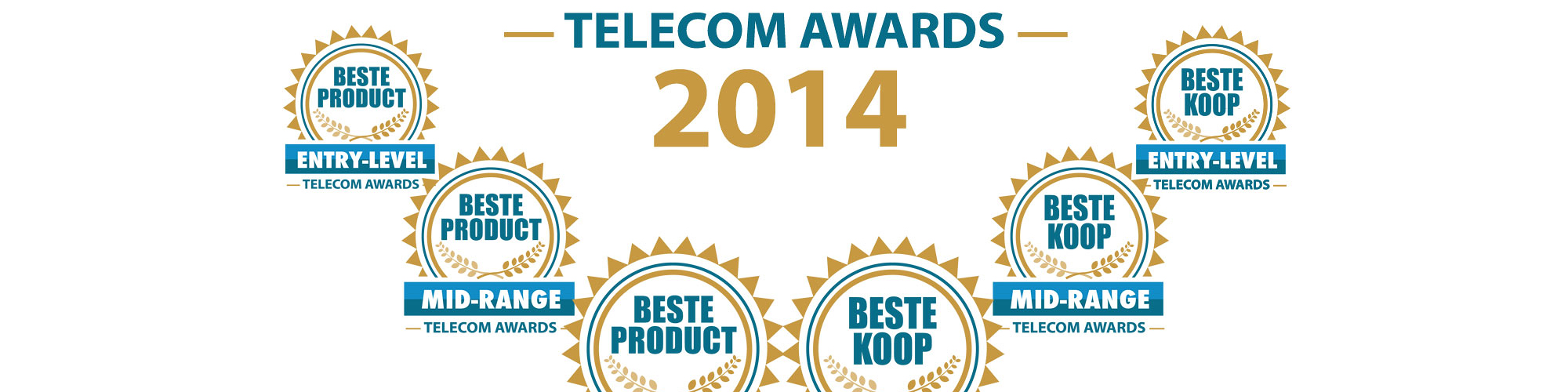 Winnaars Telecom Awards 2014 bekend