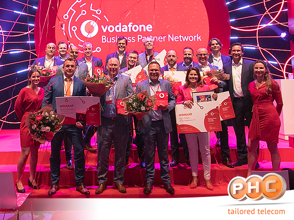 Vodafone Business partner of the Year!