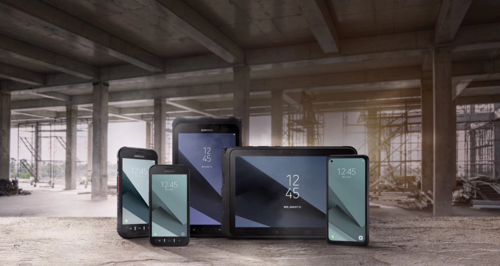 Samsung Rugged apparaten
